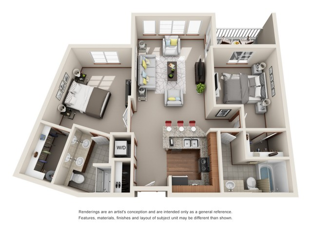 Floor Plan 17 | Harrington Square