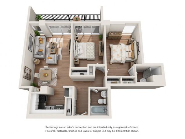 Floor Plan 21 | Houston House