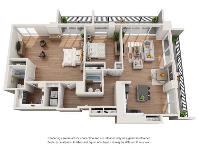 Floor Plan 19 | Houston House