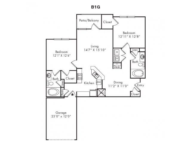 Floor Plans 3   Villas at Loganville