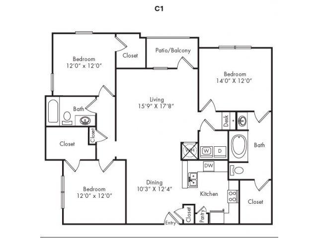 Floor Plans 7   Villas at Loganville