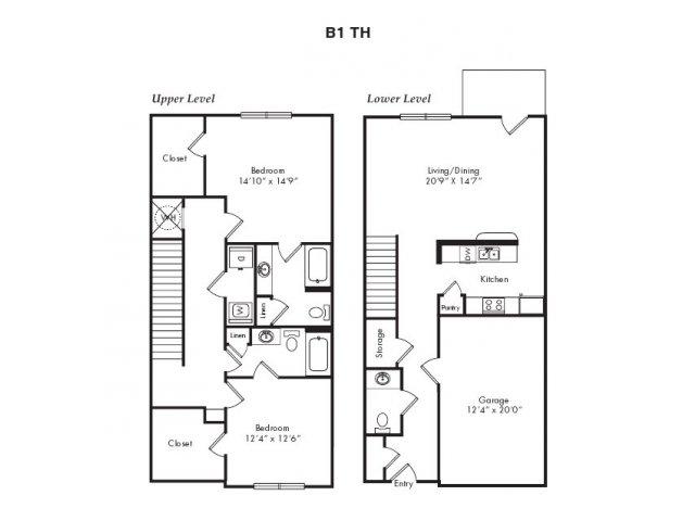 Floor Plans 4   Villas at Loganville