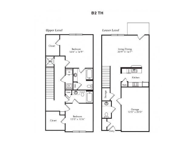 Floor Plans 6   Villas at Loganville