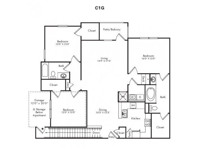 Floor Plans 8   Villas at Loganville