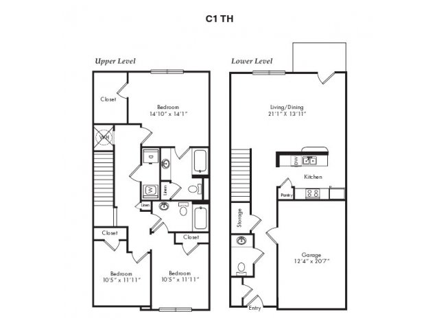 Floor Plans 9   Villas at Loganville