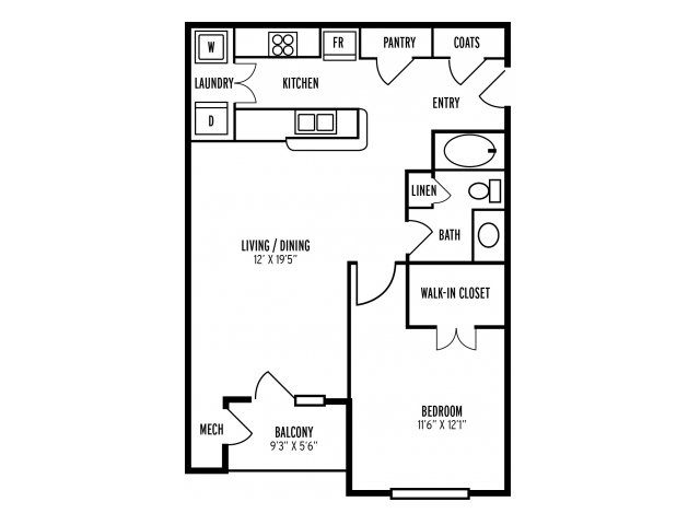 Floor Plan | The Reserve at Mill Creek