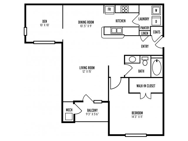Floor Plan 2 | The Reserve at Mill Creek