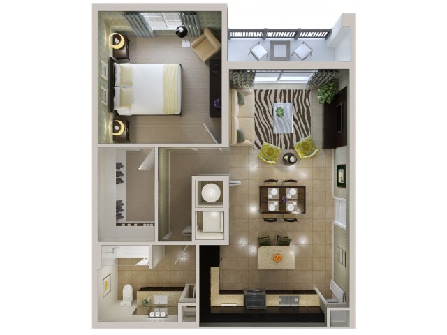 Floor Plan 4 | Bridges at Kendall Place
