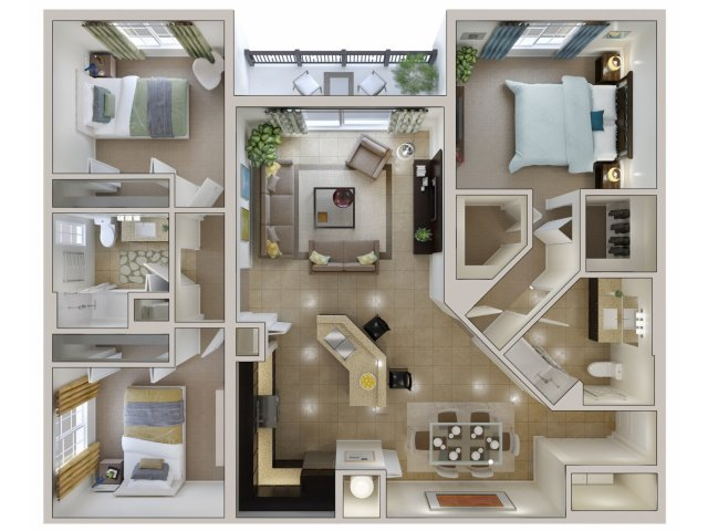 Floor Plan 10 | Bridges at Kendall Place