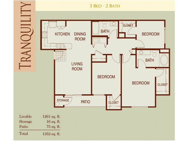 Floor Plan 2 | Harmony at Surprise