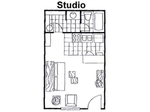 Floor Plan Studio | Raintree Apartments