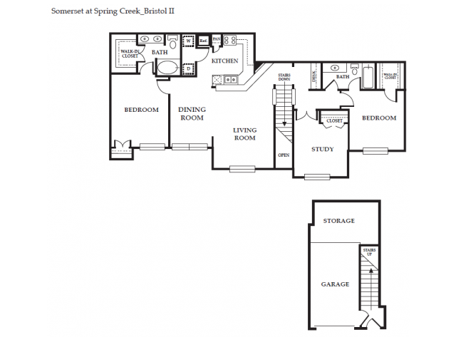 Floor Plan 14 | Somerset at Spring Creek