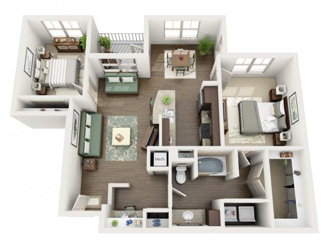 Floor Plan 22 | Azure (FL)