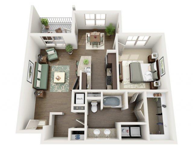 Floor Plan 12 | Azure (FL)