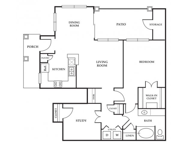 Floor Plan 5 | Somerset at Spring Creek