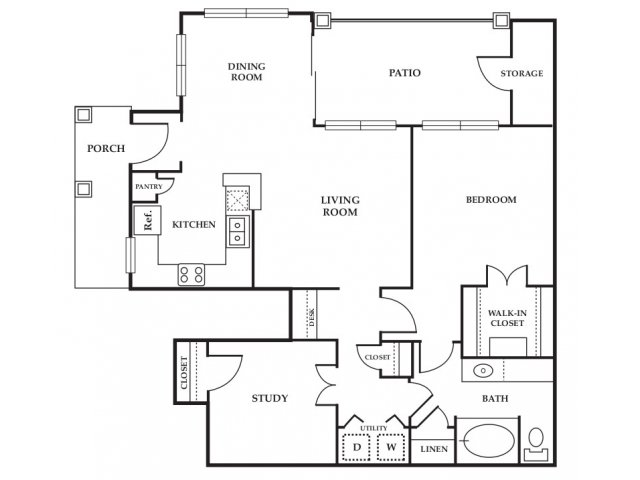 Floor Plan 6 | Somerset at Spring Creek
