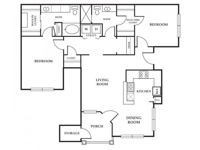 Floor Plan 7 | Somerset at Spring Creek