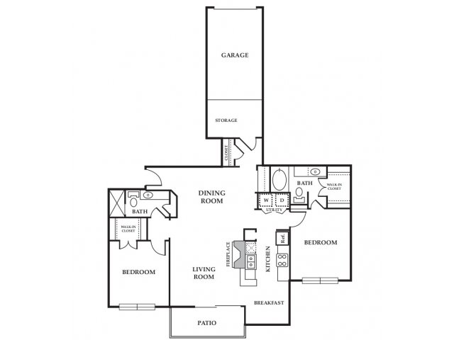 Floor Plan 8 | Somerset at Spring Creek