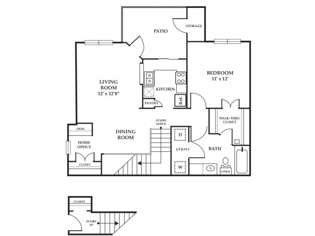 Floor Plan 17 | Somerset at Spring Creek