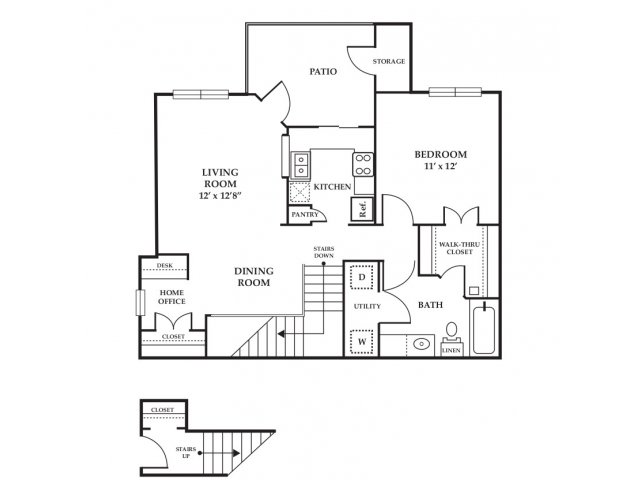 Floor Plan 18 | Somerset at Spring Creek