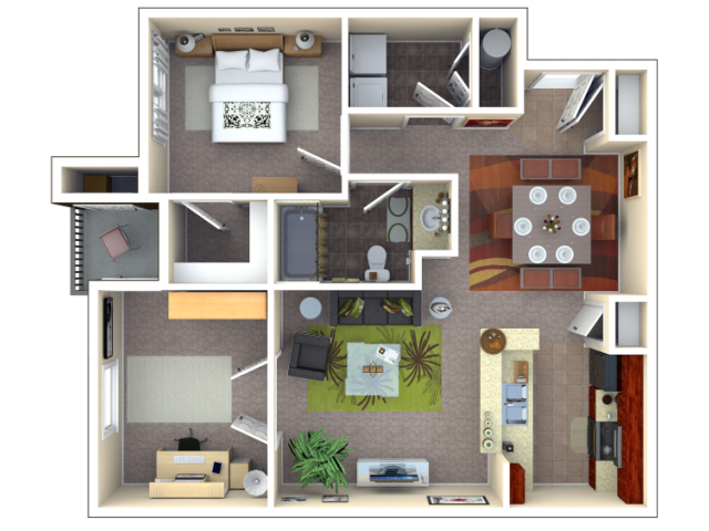 Floor Plan 4 | Autumn Breeze