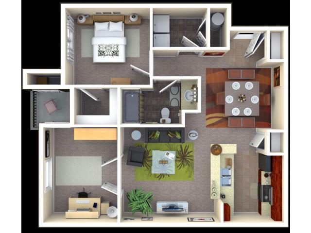 Floor Plan 4   Autumn Breeze. Apartments for Rent in Noblesville Indiana   Autumn Breeze