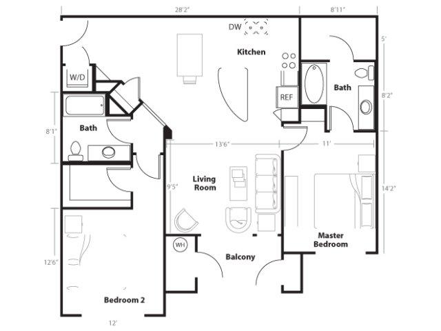 Floor Plan 6 | Vue 21