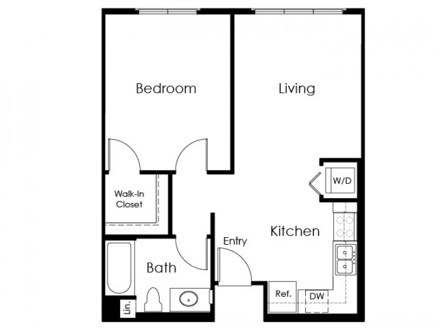 Floor Plan 3 | Pomona Apartments | Monterey Station Apartments