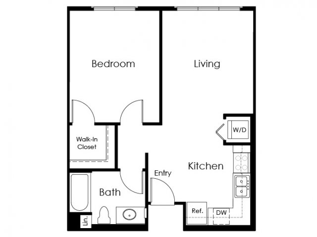 Floor Plan 10 | Apartment In Pomona | Monterey Station Apartments