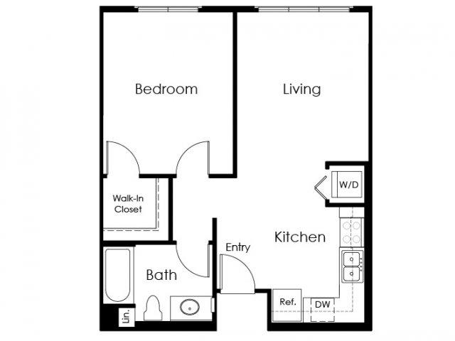 Floor Plan 2 | Apartments For Rent Pomona | Monterey Station Apartments