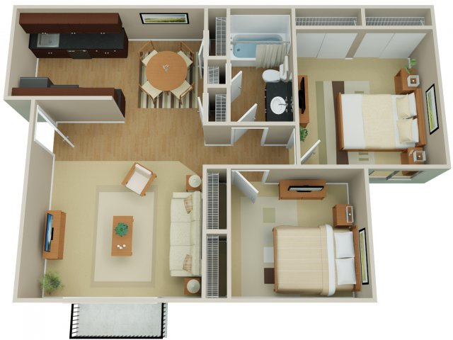 Floor Plan 4 | Arvada Green