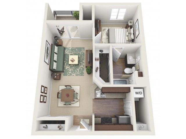 Floor Plan 6 | Santa Monica Luxury Apartments | AO Santa Monica