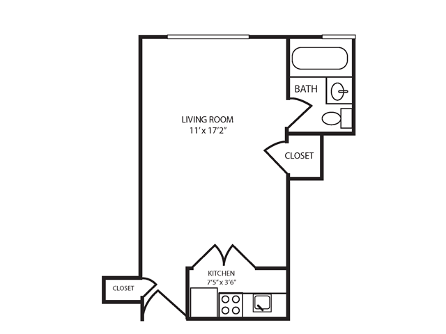 Floor Plan 1 | The Seneca