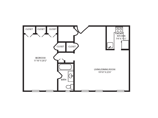 Floor Plan 28 | The Seneca