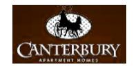 Canterbury Apartments  Logo