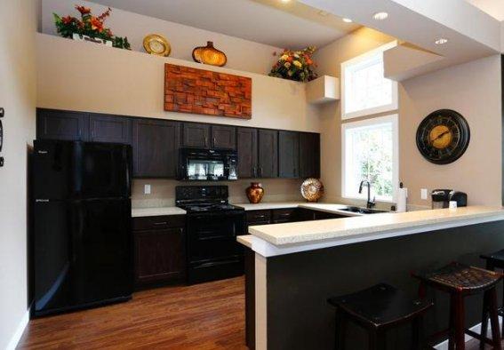 Kitchen at Canterbury Apartments 2