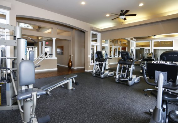 Fitness Center at Canterbury Apartments 2