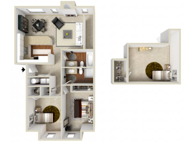 Floor Plan 12 | Apartment In Vancouver | Golfside Village