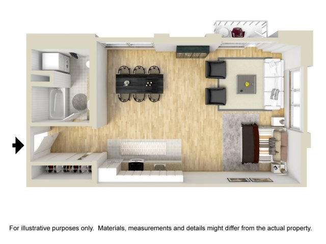 Studio Floor Plan | Museum Place