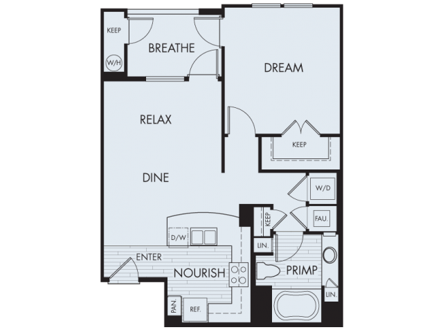 Floor Plan | Artisan at East Village