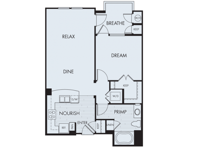 Floor Plan 2 | Artisan at East Village