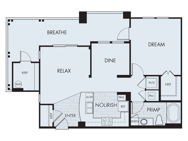 Floor Plan 3 | Artisan at East Village