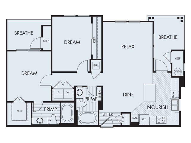 Floor Plan 4 | Artisan at East Village