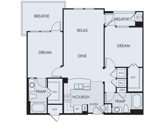 Floor Plan 5 | Artisan at East Village