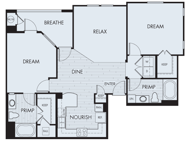 Floor Plan 6 | Artisan at East Village
