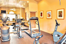 Fitness Center at Miramar Homes