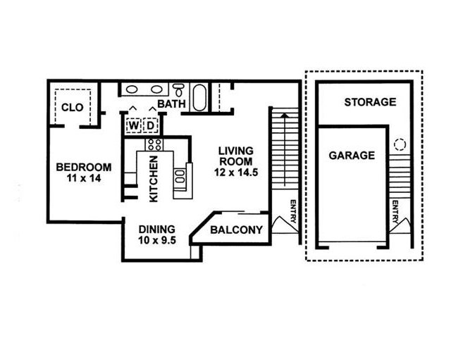 Floor Plan | Chartwell Court Apartments