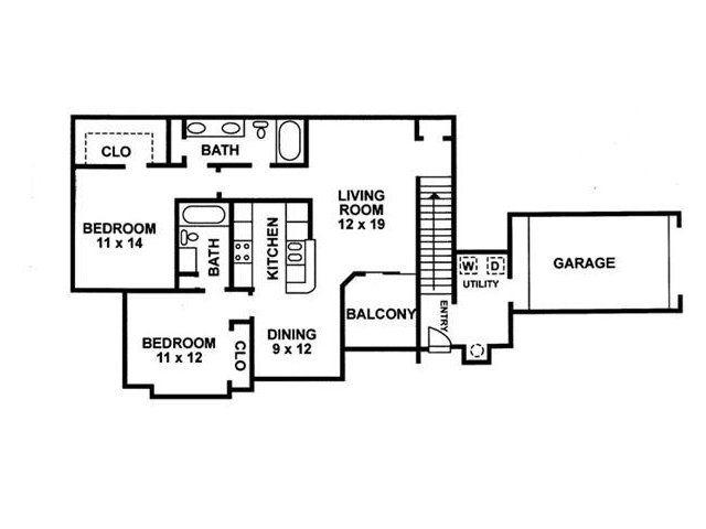 Floor Plan 7 | Chartwell Court Apartments
