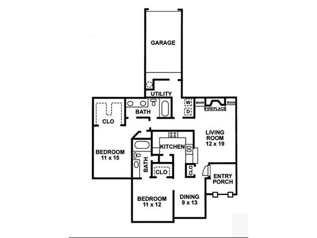 Floor Plan 10 | Chartwell Court Apartments