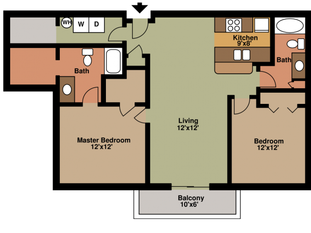 Floor Plan 2 | Eagles Landing